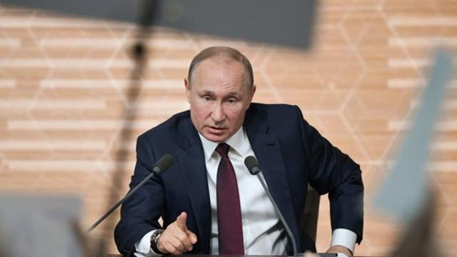 """Vladimir Putin avertizează Turcia să nu intervină militar în nord-vestul Siriei. """"Să nu lăsăm cel mai grav scenariu să devină realitate"""