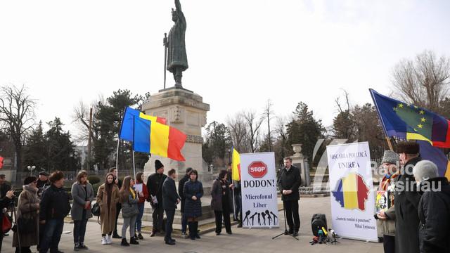 Protest permanent: Igor Dodon trebuie oprit să câștige un alt mandat prezidențial, el este produsul sistemului politic în esență corupt