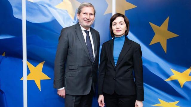 Maia Sandu: Proiectul european care prevede finanțarea dezvoltării localităților R.Moldova va fi extins