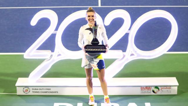 Tenis: Simona Halep - E special să fii în 2020, la a 20-a aniversare a turneului de la Dubai și al 20-lea titlu al meu