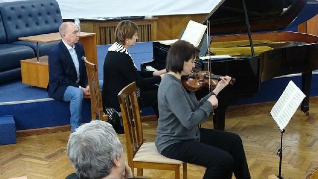 Noua ediție a salonului muzical de la Biblioteca Națională, dedicată muzicii de cameră