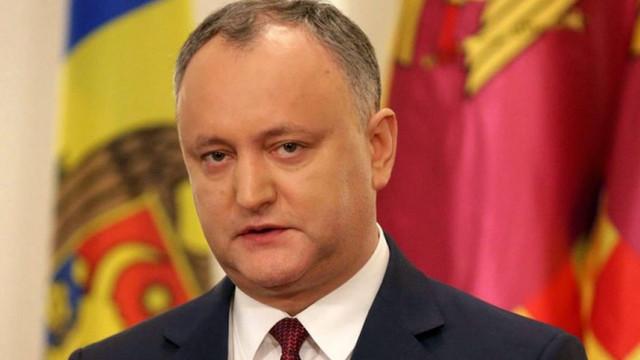 """Igor Dodon solicită SIS să prevină """"imixtiunile externe"""" în viitoarele alegeri prezidențiale"""
