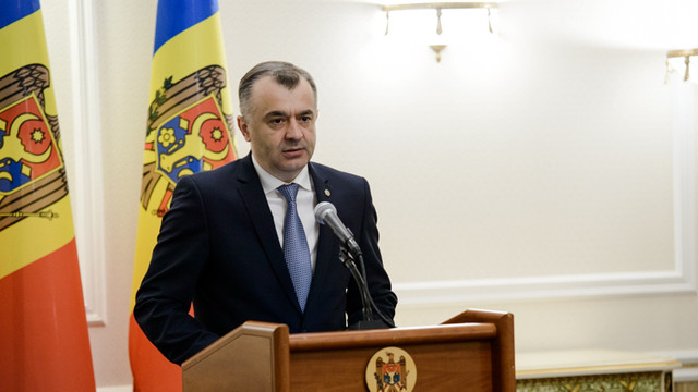 Reacția premierului Ion Chicu la protestul veteranilor