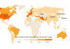 Singurele ţări din lume care nu au raportat cazuri de coronavirus. Coreea de Nord susţine că nu are niciun caz