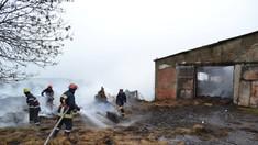 Un incendiu izbucnit într-o gospodărie din raionul Leova a mistuit 35 de oi