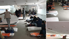 PAS condamnă modul în care au fost tratați cei 220 moldoveni blocați la Aeroportul Charles de Gaulle
