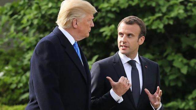 """Pandemia de coronavirus. Emmanuel Macron anunță că pregătește """"o inițiativă importantă"""" împreună cu Donald Trump"""