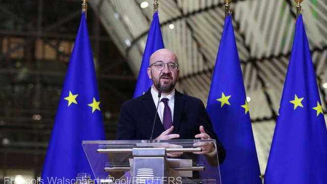 Coronavirus: Președintele Consiliului European afirmă că UE prioritizează libertatea de circulație a mărfurilor și vaccinurile