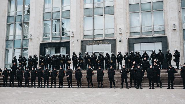 Proces penal în urma protestului din PMAN