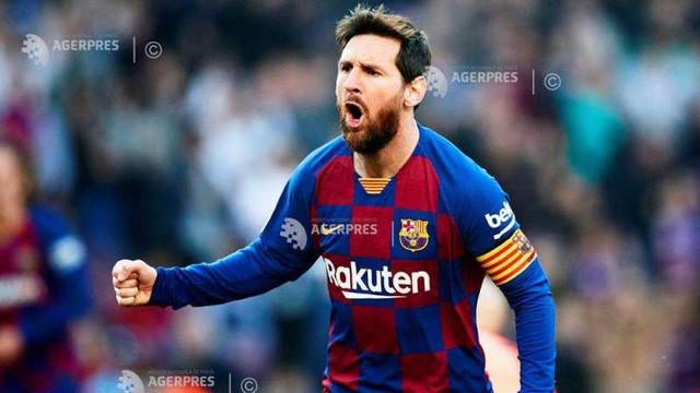 Fotbal: Lionel Messi rămâne jucătorul cu cele mai mari venituri din lume