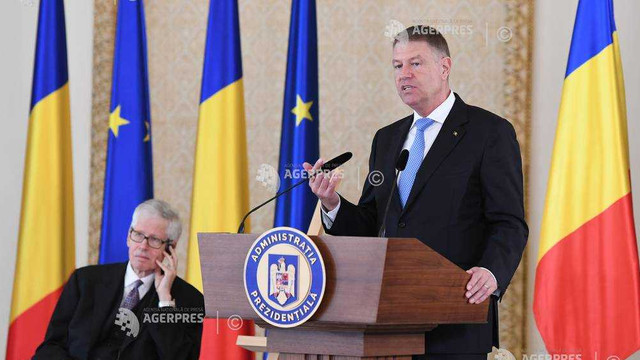 Klaus Iohannis a primit premiul