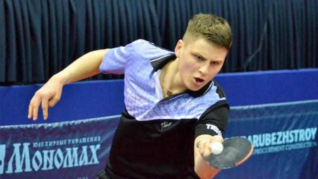 Andrei Puțuntică s-a calificat pe tabloul principal al Europenelor de tenis de masă U-21
