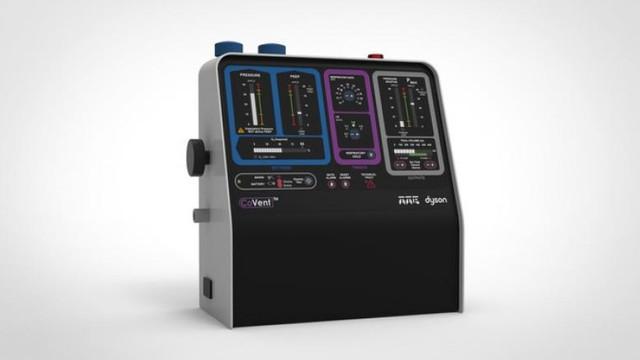 Ventilatoare pentru cei care nu mai pot să respire. Dyson a creat un nou model în doar 10 zile și va fi produs în cantități mari
