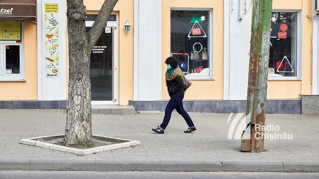 GALERIE FOTO | Orașul Chișinău, în carantină