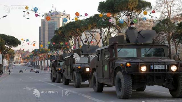 Coronavirus: Albania scoate pe străzi armata pentru a impune restricțiile de circulație