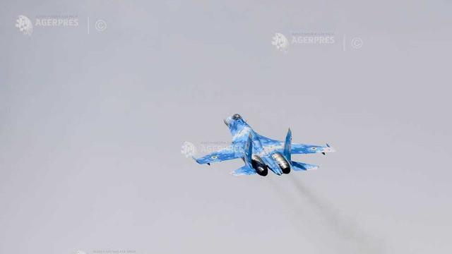 Rusia: Un avion de vânătoare rusesc Su-27 s-a prăbușit în Marea Neagră în timpul unui zbor de rutină