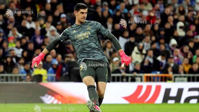 Fotbal - Real Madrid: Thibaut Courtois, incert pentru returul cu Manchester City
