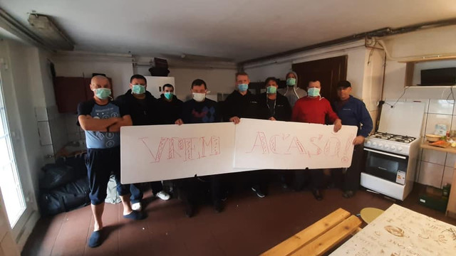 Zece șoferi de TIR din R. Moldova, blocați în Polonia, cer ajutor pentru a ajunge acasă (TV8)