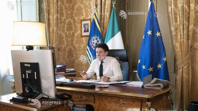 Coronavirus: Premierul italian cere UE să utilizeze întreaga forță a fondului de salvare pentru zona euro