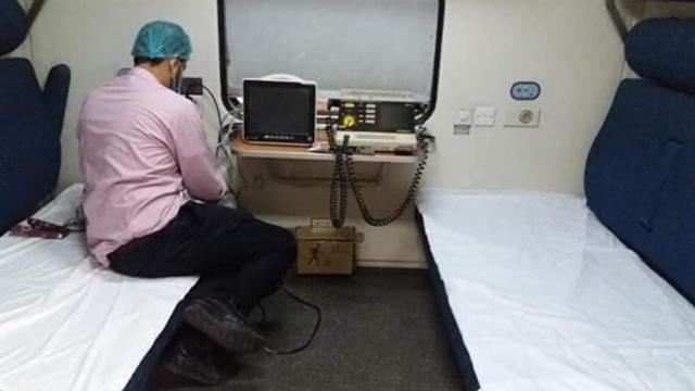 VIDEO | Spitale pe șine. Cum se transformă trenurile în spitale de carantină pentru bolnavii de COVID-19
