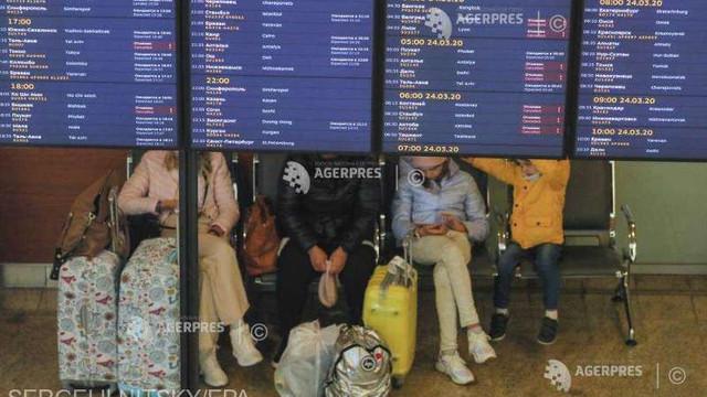 Coronavirus: Rusia suspendă toate zborurile internaţionale începând de la miezul nopţii