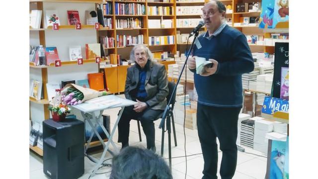 """Poetul Vasile Romanciuc a lansat antologia """"Pâinea noastră cea din toate filele"""""""