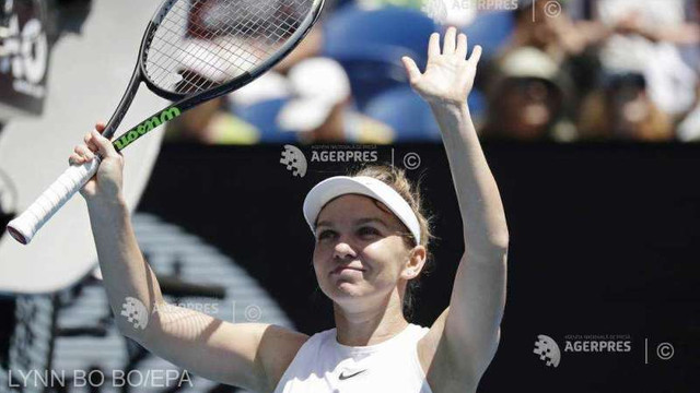 Tenis: Simona Halep, accidentată, s-a retras din turneul de la Indian Wells