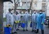 Peste 600 de angajați DGLCA au asigurat dezinfecția în Chișinău săptămâna trecută