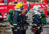 Pompierii au evacuat mai multe persoane dintr-un bloc din Chișinău, în care s-a aprins un apartament