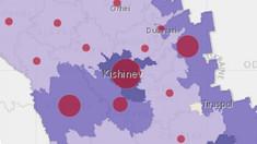 Aproape 40% din cazurile de COVID sunt în Chișinău