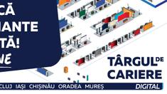 Târg de cariere | Peste 200 de companii din România recrutează online, inclusiv la Chișinău