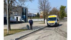 Prima ambulanță a adus pacienți la Centrul de triere COVID-19