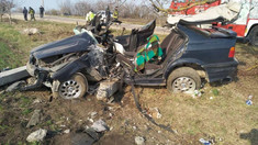 FOTO | Accident de groază, la Briceni