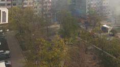 Incendiu într-un apartament din sectorul Râșcani. Mai multe echipaje de pompieri, la fața locului (TV8)