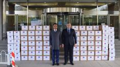 China a oferit R.Moldova un lot de echipamente medicale pe peste un milion de lei