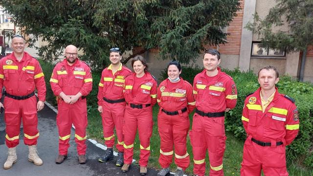 7 urgentiști bihoreni au plecat să ajute Republica Moldova