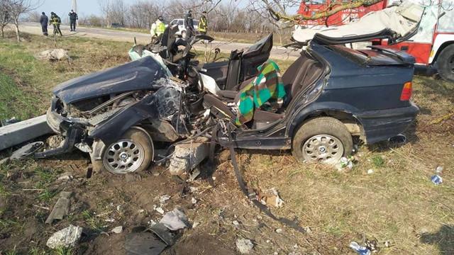 FOTO | Accident de groază, la Briceni