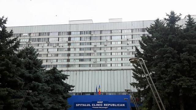 Secția cardiologie din cadrul Spitalului Clinic Republican, plasată în carantină. Mai mulți pacienți au fost diagnosticați cu COVID-19