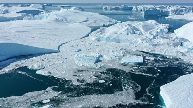 Groenlanda se topește accelerat. Apele ar putea înghiți orașe, plaje și zone de coastă întregi în următorii 30 de ani