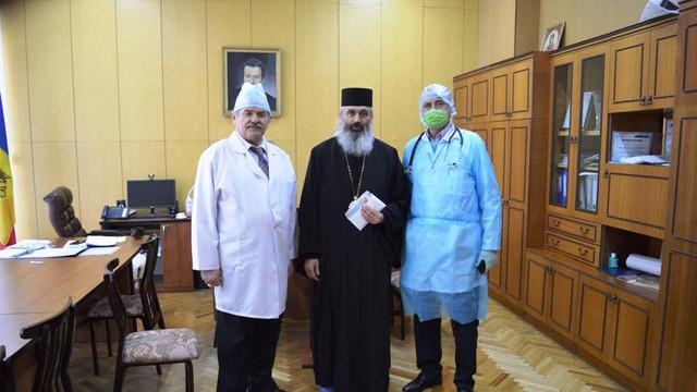 Clericii și credincioșii din cadrul Mitropoliei Basarabiei (Patriarhia Română), alături de cadrele medicale și de persoanele aflate în grea încercare din cauza noului coronavirus