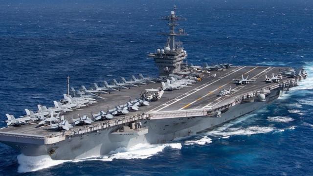 173 de membri ai echipajului portavionului american USS Theodore Roosevelt au fost testați pozitiv pentru coronavirus