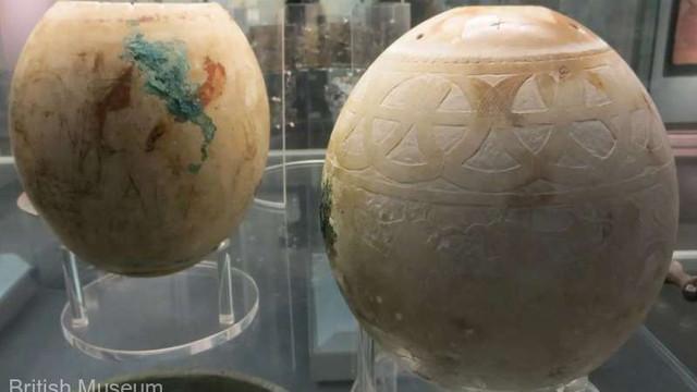 Ouă de struț decorate oferă informații despre o lume antică interconectată (studiu)