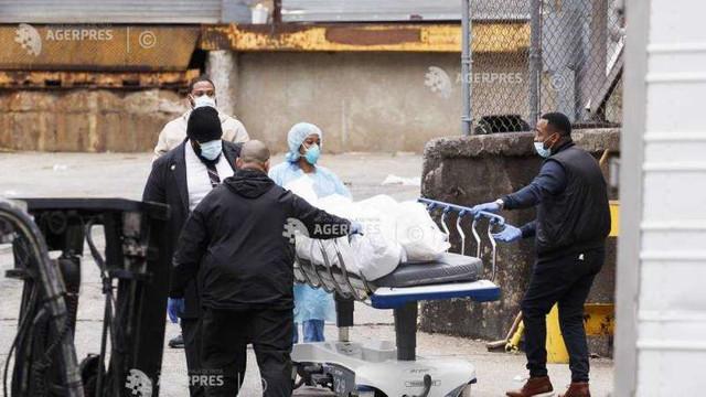 Coronavirus: Peste 1.200 de morți în 24 de ore, în Statele Unite