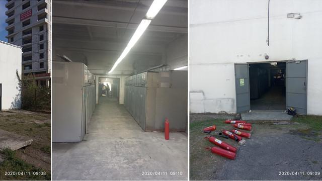 Centrul Mamei și Copilului și Centrul temporar de triere COVID-19 au rămas fără curent electric în această dimineață din cauza unui incendiu