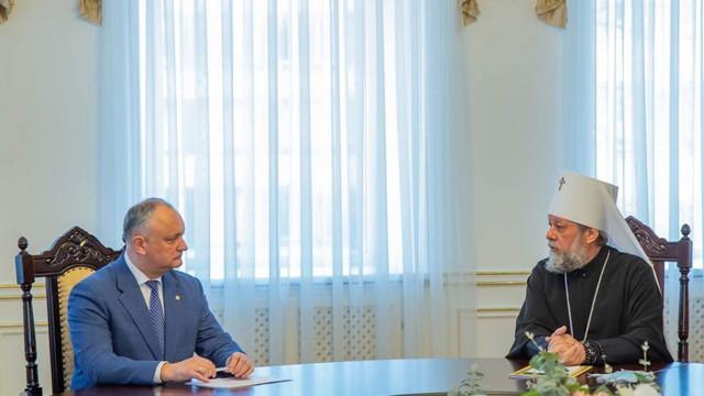 Igor Dodon: Mai mulți creștini cu posibilități vor aduce Focul Haric în R. Moldova