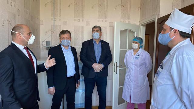 13 angajați ai Ministerului de Interne infectați cu COVID-19 vor fi transferați în Spitalul MAI