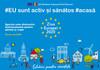 VIDEO | Un nou eveniment organizat în cadrul Zilei Europei. Sportul este distractiv: Antrenamente pentru părinți și copii
