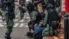Proteste reprimate cu gaze lacrimogene și tunuri de apă în Hong Kong