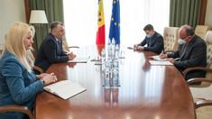 """Ion Chciu a avut o întrevedere cu ambasadorul Daniel Ioniță. """"Am ținut să-i exprim Domnului Ambasador regretul pentru modul cum a fost interpretat și apreciat unul din comentariile mele pe rețelele de socializare"""""""