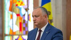 Igor Dodon nu admite o coaliție de guvernare cu participarea fracțiunii Șor și grupul Candu
